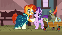 Sunburst offers to take Starlight antiquing S7E24