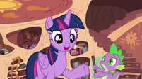 "Twilight ""But I'm happy to keep helping you learn"" S4E15"