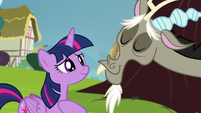 Twilight Sparkle smiling meekly S5E22