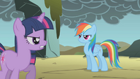 Twilight instructs Rainbow to clear the smoke S1E07