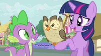 Twilight oh you two S3E11