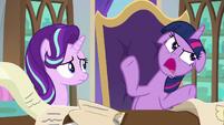 "Twilight upset ""well, excuse me!"" S9E1"