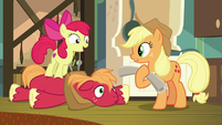 "Apple Bloom ""I didn't sleep either!"" S9E10"