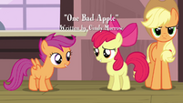 Apple Bloom 'She doesn't have her Cutie Mark' S3E4