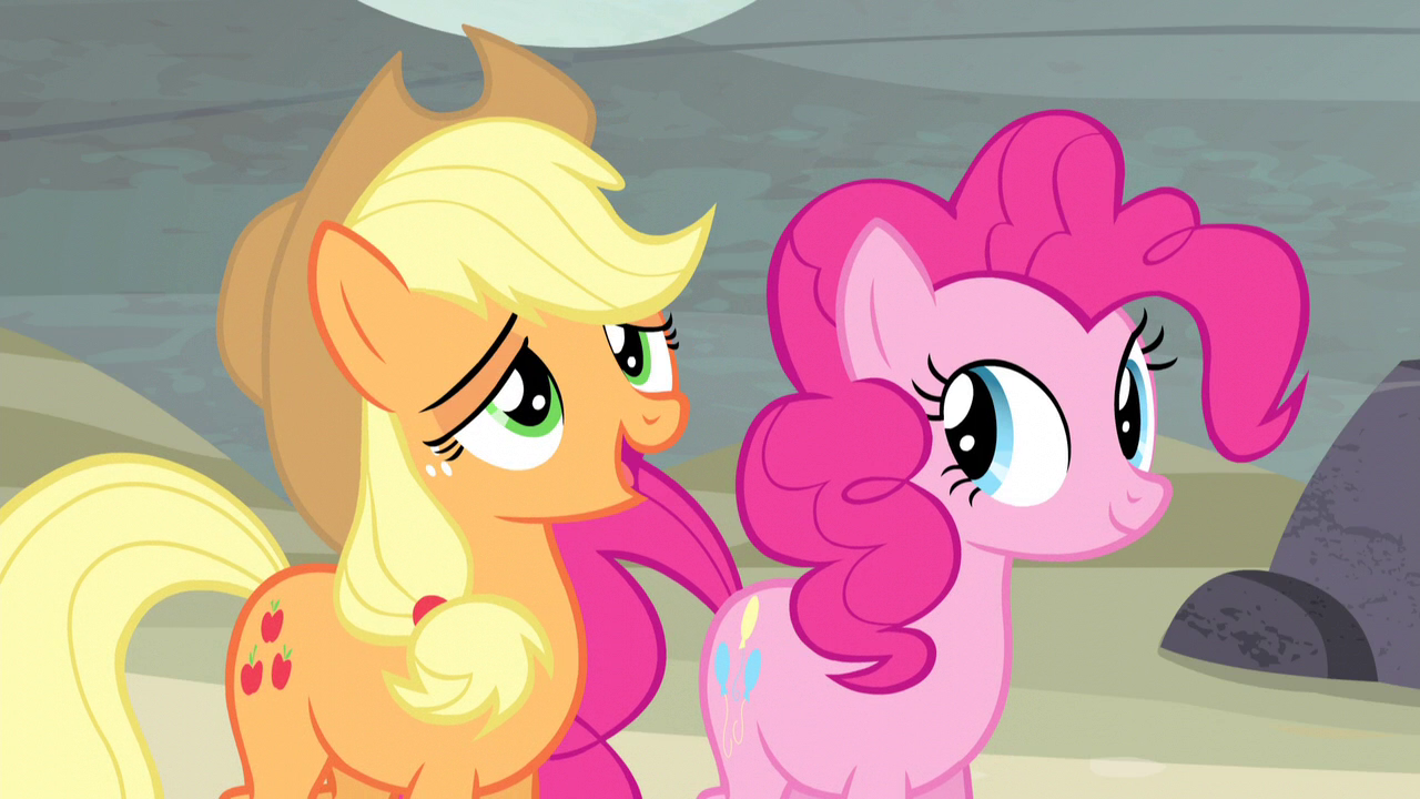 image applejack we brought real friendship to these here ponies