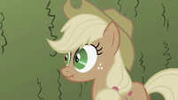 Applejack being a liar S2E01