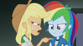 Applejack confronts Rainbow about her showing off EG2.png