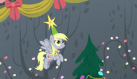 Derpy wearing a star-topped hat S6E8