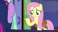 "Fluttershy ""cross-reference a book about masks"" S7E20"