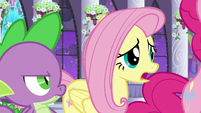 "Fluttershy ""what are we gonna do?"" S9E17"