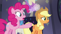 "Pinkie Pie ""three really, really fast ponies"" S8E4"