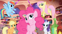 Pinkie Pie --What- It's good!-- S1E01