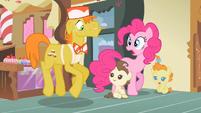 Pinkie Pie wow he's tense S2E13