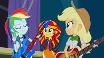 "Rainbow Dash ""let's get ready to rock!"" EG2"