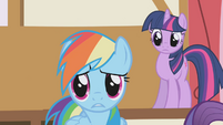 "Rainbow Dash ""tired?"" S1E04"