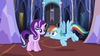 Rainbow Dash --do some location scouting-- S6E21