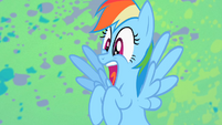 Rainbow Dash shocked S2E07