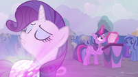 Rarity 'Twilight refused to admit it' S4E16