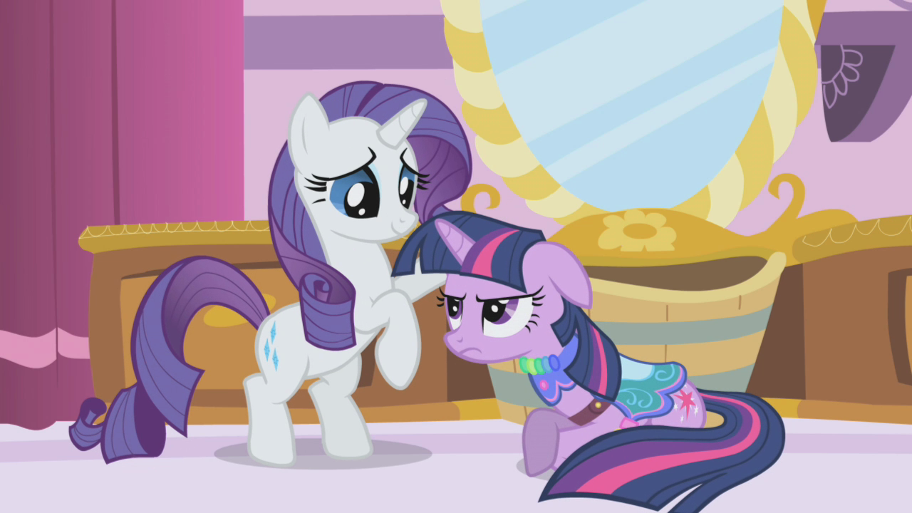 image rarity making twilight try on clothes s1e3 png my little