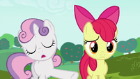 Sweetie --biggest, boldest cart anypony's ever seen-- S6E14