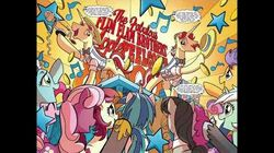 The Flim Flam Peelcore 8000 (from the MLP IDW comics) song
