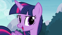 Twilight 'something that just might be worthy' S4E18