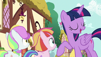 "Twilight Sparkle ""friendship isn't always easy"" S7E14"