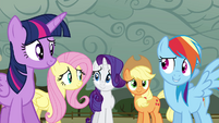Twilight and friends 'we noticed' S4E18