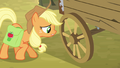 Applejack asking about the wagon S4E09.png