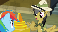 Daring Do 'the whole fortress will collapse!' S4E04