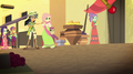Daring Do and villagers look at Stalwart Stallion EGS2.png