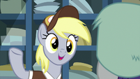 "Derpy ""she is at Sweet Apple Acres"" MLPBGE"