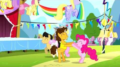 Dutch My Little Pony Pinkie The Party Planner Song - Reprise HD