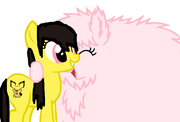 FANMADE Steph's OC and Fluffle Puff