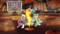 Flame geyser bursts near mailponies S8E19.png