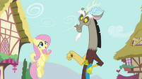 Fluttershy -Did you bring the cucumber sandwiches-- S4E26
