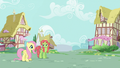 Fluttershy and Tree Hugger confused S5E7.png