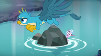 Gallus flies out to confront Storm King S8E22