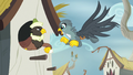 Male griffon snatching his mail from Gabby S6E19.png