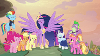 Mane Six holding the last note S9E26
