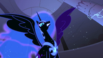 Nightmare Moon has a purple wing S1E2