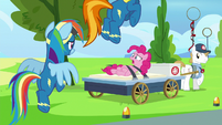 "Pinkie Pie ""what happened to the pie?!"" S7E23"
