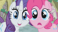 Pinkie Pie and Rarity S1E03