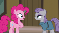 Pinkie surprised by Maud saying --five-ever-- S6E3