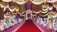 Ponies at Cranky Doodle and Matilda's wedding ceremony S5E9
