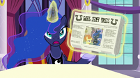 Princess Luna -but I wasn't unhappy!- S7E10