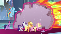 """Rainbow """"you'll come up with something"""" S9E24"""