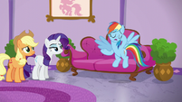 Rainbow Dash --they're totally not-- S6E10