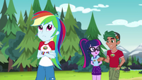 Rainbow Dash getting impatient EG4