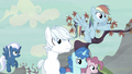 Rainbow Dash sees Starlight in the distance S5E2.png